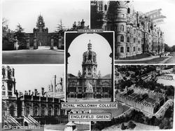 Royal Holloway College c.1950, Englefield Green