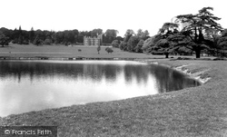 House And The Lake c.1955, Englefield