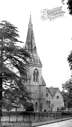 St Mark's Church c.1955, Englefield