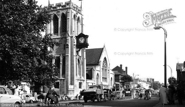 Epping, St John The Baptist Church C.1955