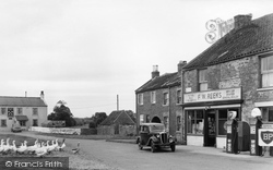 Village Shop And Cross Keys Hotel c.1955, Eppleby