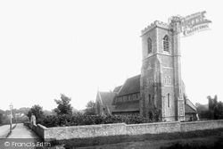 Epsom, Christ Church From The North West 1890