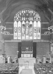 Epsom, College Chapel Window 1925