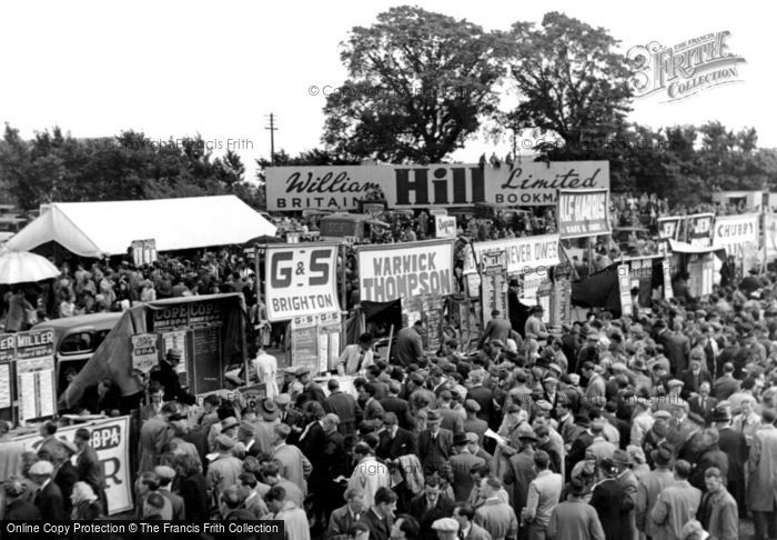 Photo of Epsom, Derby Day c1955, ref. E37012