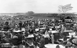 Epsom, Derby Day, From Tattenham Corner 1928