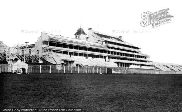 Epsom, Grandstand at racecourse, 1923 Reproduced courtesy of The Francis Frith Collection