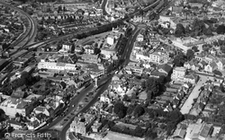 Epsom, From The Air c.1952