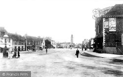 Epsom, High Street 1890