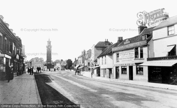 Photo of Epsom, High Street 1890, ref. 25982