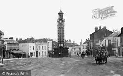 Epsom, High Street 1897
