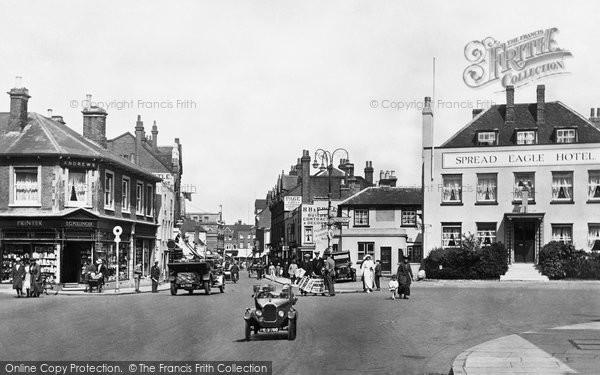 Photo of Epsom, High Street 1924, ref. 75368