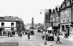 Epsom, High Street 1928