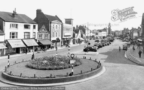 Epsom, High Street c.1955