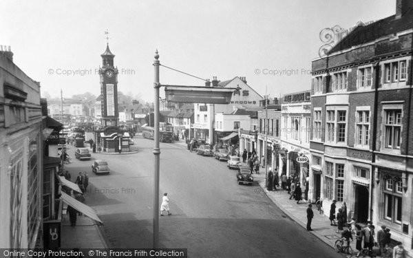 Epsom High Street C 1955 Francis Frith