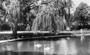 Epsom, Rosebery Park c1955