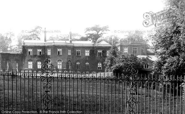 Photo of Epsom, The Durdans 1890