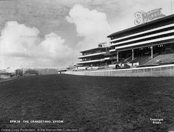 Photo of Epsom, The Grandstand c.1955