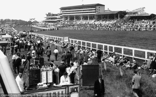 Photo of Epsom, the Grandstand c1955, ref. E37119