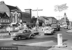 Epsom, The Roundabout c.1965