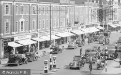 Epsom, Traffic, High Street c.1955