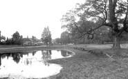 Epsom, Woodcote Pond 1938