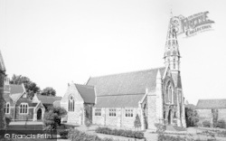 Epworth, John Wesley Church And Old Rectory c.1965