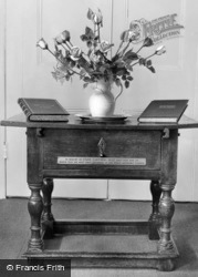 Old Rectory, Memorial Table c.1955, Epworth