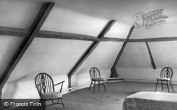 Old Rectory, Old Jeffrey's Chamber c.1955, Epworth