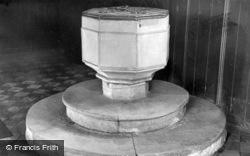 St Andrew's Church, Font c.1950, Epworth