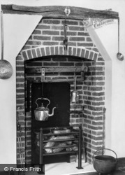 The Old Rectory, Susanna's Kitchen c.1955, Epworth