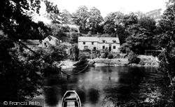 Erbistock, Ferry c.1890
