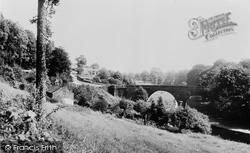 Erbistock, Overton Bridge c.1965