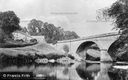 Erbistock, The Dee At Overton Bridge c.1965