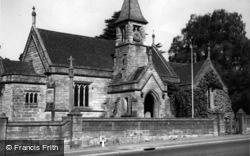 Church Of The Holy Trinity c.1950, Eridge Green