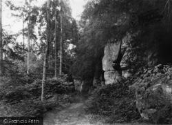 Eridge Green, Eridge Rocks c.1950