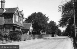 The Main Road And Post Office c.1950, Eridge Green
