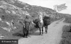 Eriskay, Gathering Peat 1963