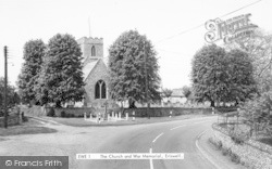 The Church And War Memorial c.1960, Eriswell