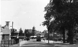 Avenue Road, Town End c.1955, Erith