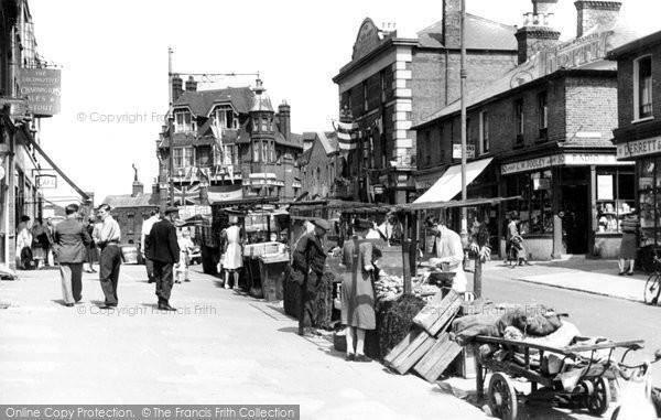 Erith, High Street 1953