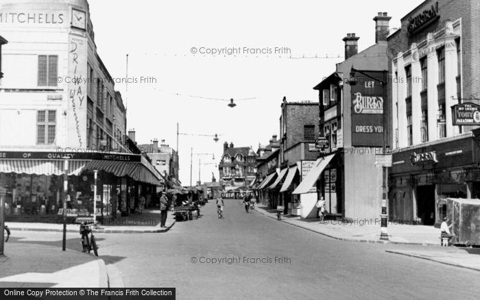 Erith, High Street c1953