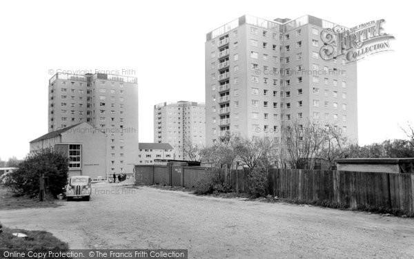 Erith, New Flats c1960