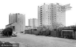 New Flats c.1960, Erith