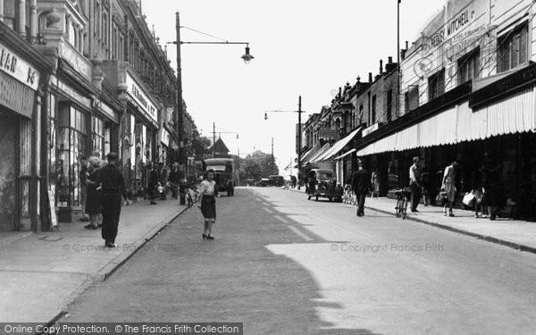Erith, Pier Road c1950