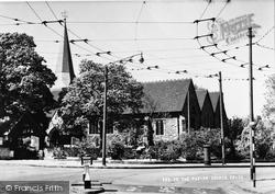 The Parish Church c.1955, Erith