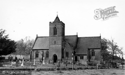 Church Of The Holy Saviour c.1955, Erlestoke