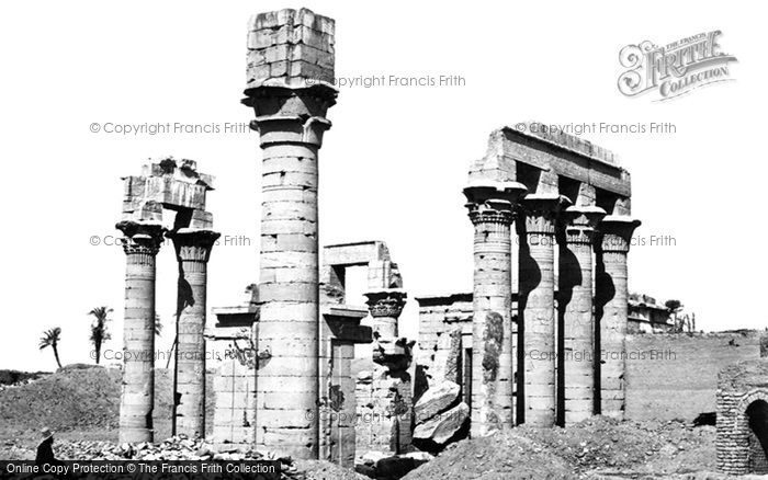 Photo of Erment, Cleopatra's Temple 1857