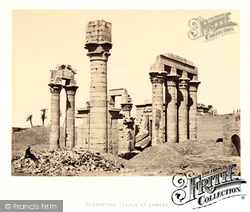 Erment, Cleopatra's Temple 1857