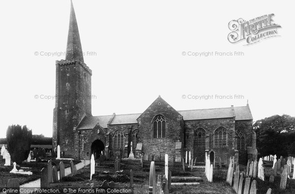 Photo of Ermington, Church of St Peter and St Paul 1903