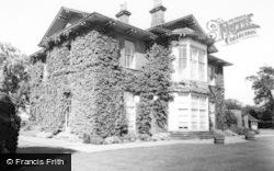 Escrick, Queen Margaret's School, The Dower House c.1955